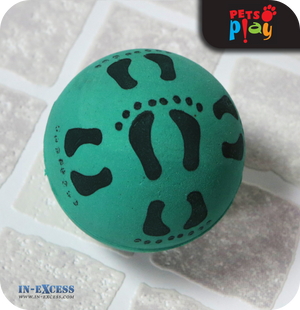 Pets Play Bouncy Rubber Balls - Pack of 2