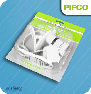 Pifco Wired Clip-on Light Fitting - 1 Metre