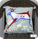Pignut Casual Living Cotton Bird Spotting Stag Cushion - 45 x 45cm