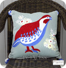 Pignut Casual Living Cotton Moorhen Bird Cushion - 45 x 45cm