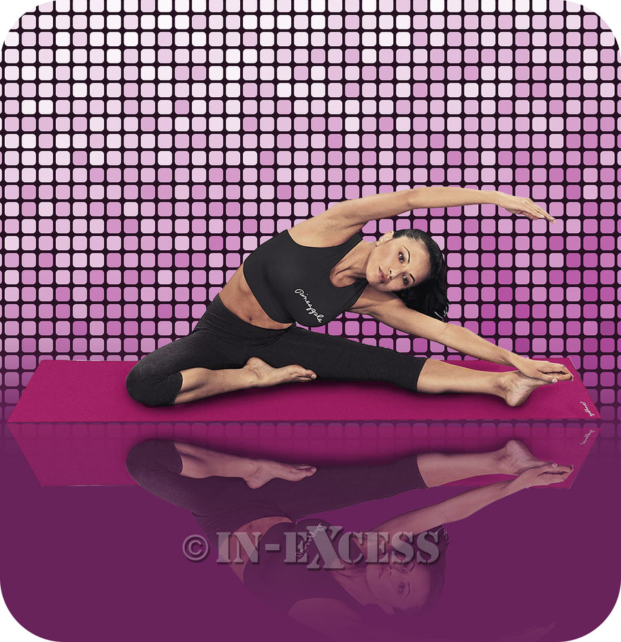 Pineapple Non-Slip Fitness Stretching Yoga Mat - Cushioned Surface