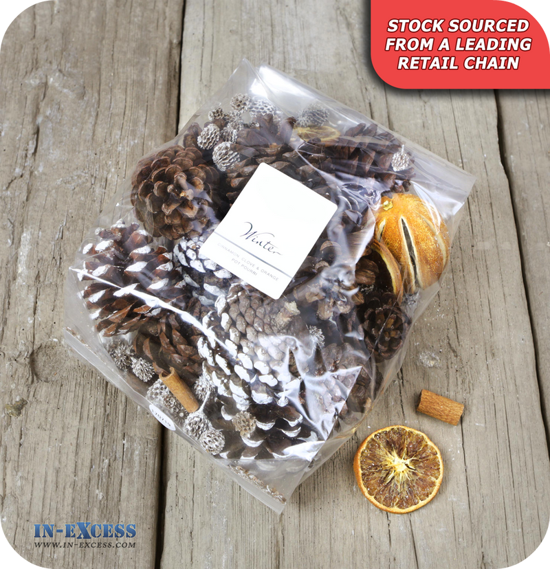 Winter Scents Cinnamon, Clove & Orange Pot Pourri - 500g