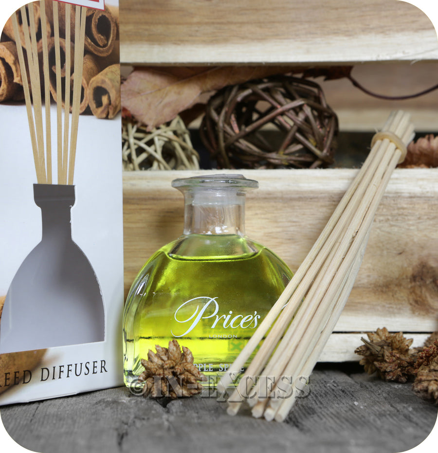 Price's Patent Candle Scented Reed Diffuser Apple Spice - 100ml