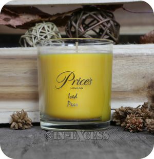Price's Patent Candle Scented Glass Jar Candle Iced Pear - 349g