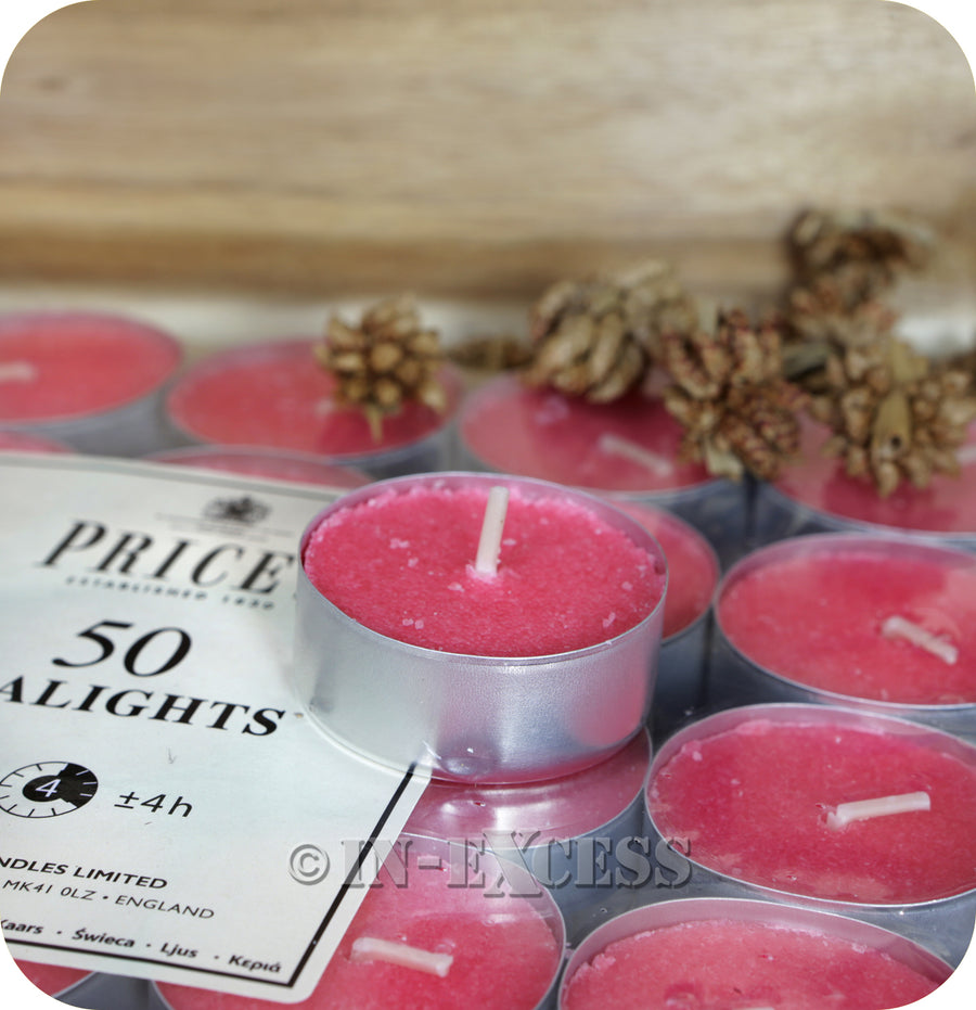 Price's Patent Candle Scented Tealights Unscented - 14g
