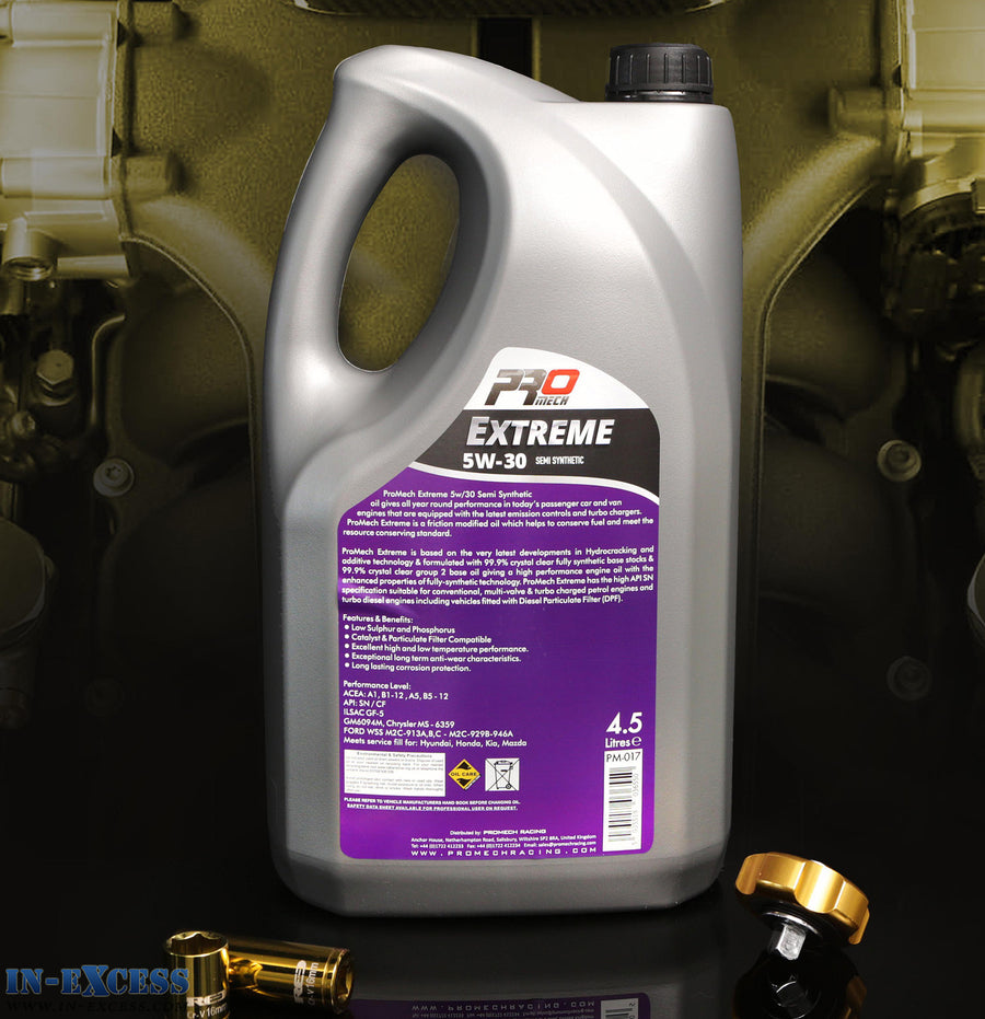 ProMech Extreme Semi Synthetic Engine Oil 5W-30 4.5L