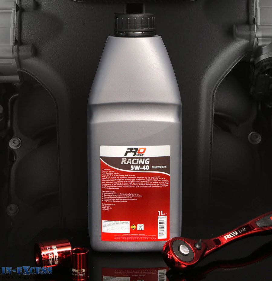 ProMech Racing Fully Synthetic Engine Oil 5W-40 1L