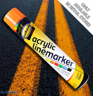 ProSolve Acrylic Traffic Line Marking Paint 750ml - Orange