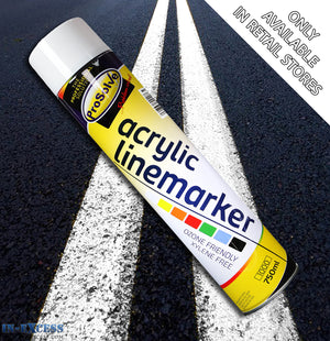 ProSolve Acrylic Traffic Line Marking Paint 750ml - White