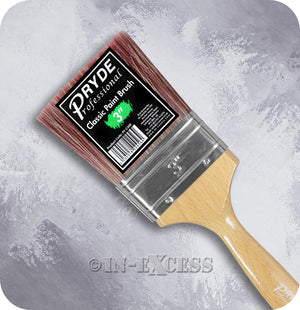 Pryde Professional Classic Paint Brush - 3""
