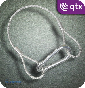 QTX Galvanised Steel Safety Wire 90kg - 350mm