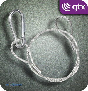 QTX Galvanised Steel Safety Wire 90kg - 600mm