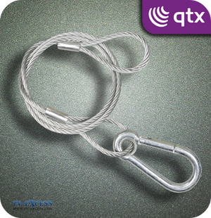 QTX Galvanised Steel Safety Wire 90kg - 750mm