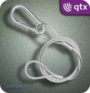 QTX Galvanised Steel Safety Wire 90kg - 900mm
