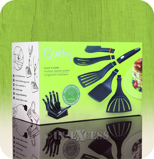 Quirky Click 'N Cook Modular Spatula System With Storage Block