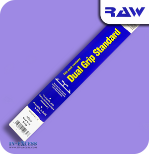 RAW Aluminium Carpet Strip Dual Grip Standard - Gold