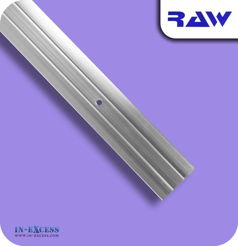 RAW Aluminium Commercial Cover Plate - Silver
