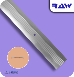 RAW Aluminium Commercial Cover Plate - Silver (M108)