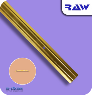 RAW Aluminium Vinyl Cover Strip - Gold (M207)