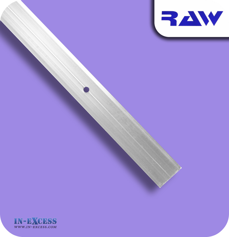 RAW Aluminium Vinyl Cover Strip - Silver