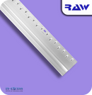 RAW Aluminium Z Section Carpet to Hard Floor Strip - Silver