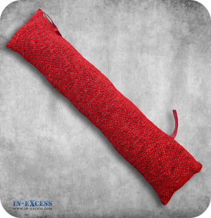 Red Patterned Draught Excluder