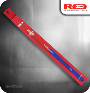 "Red Pro 12"" Bi-Metal Hacksaw Blades 18TPI - Pack of 5"