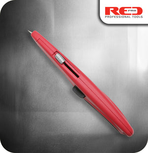Red Pro RX Retractable SK5 Bladed Knife - With 2 Spare Blades