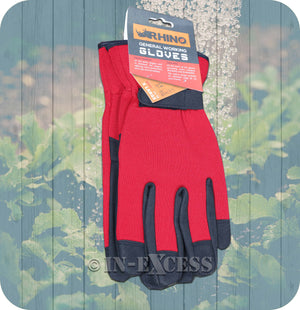 Rhino Skin General Multi-Purpose Garden Gardener's Working Gloves - Extra Large