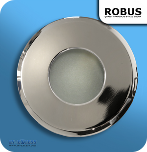 Robus 12V Fire Rated Down Light IP65 - Polished Chrome (RFS10165-03)