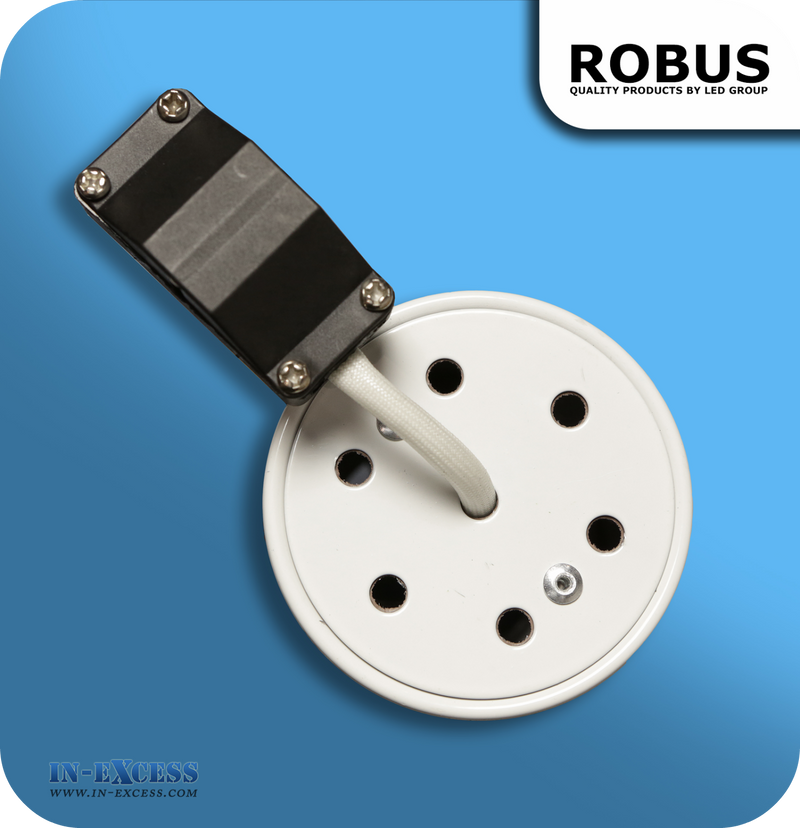 Robus 12V Fire Rated Downlight IP65 - White (RFS10165-01)