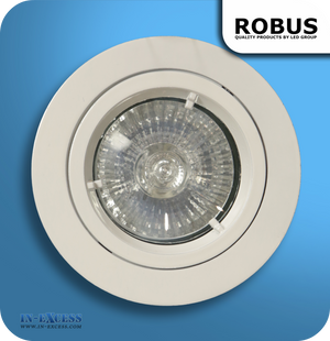 Robus 12V Recessed Downlight Kit White - Pack of 10 (RD101SCMP-01)