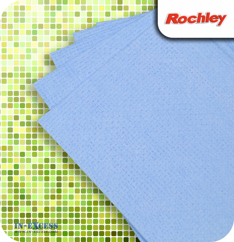 Rochley All Purpose Cloths Blue - Pack of 10