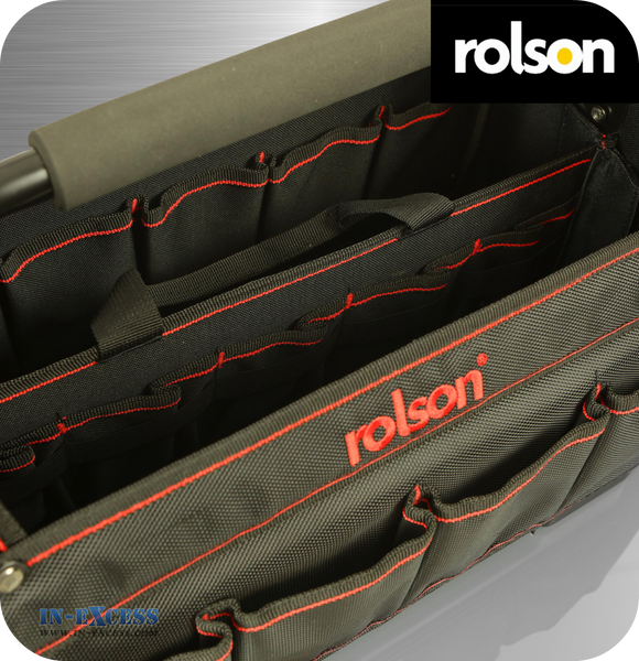 Rolson Heavy Duty Professional Tote with Detachable Tool Organiser