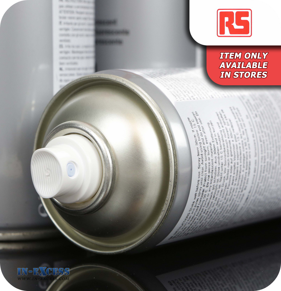 RS Acrylic Based - Gloss Grey 400ml Aerosol