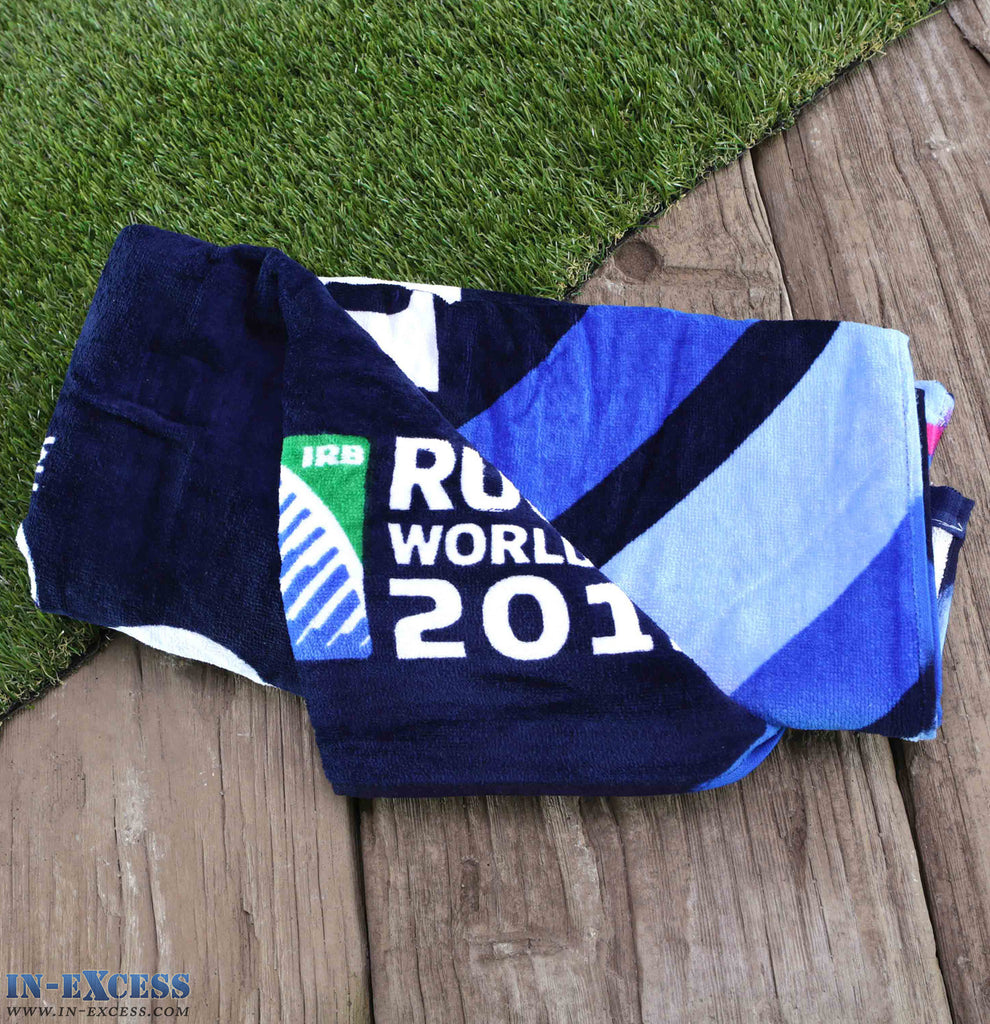 Christy Official Rugby World Cup 2015 England Beach Bath Towel 100% Cotton