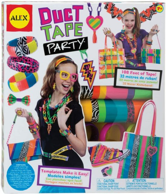 Alex Toys Fashion Do-it-Yourself Wear Duct Tape Party