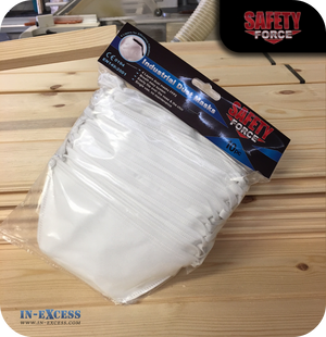 Safety Force Industrial Dust Masks - Pack of 10