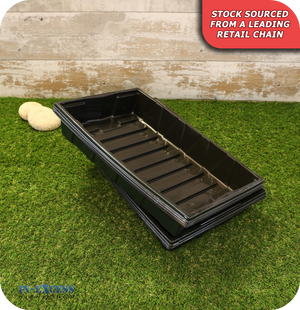 Seed Tray with Drainage Holes 37cm - Pack of 8