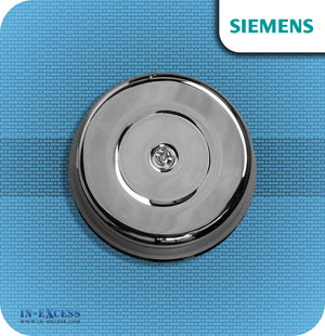 Siemens Wired Chrome Effect Door Bell Which is Transformer Operated - JSJS-305 (DCW8)