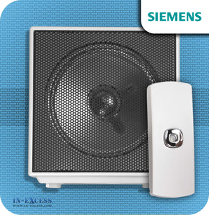 Siemens Cubist Wirefree Portable Door Bell Chime Kit JSJS-215- With JSJS-104W Bell Push