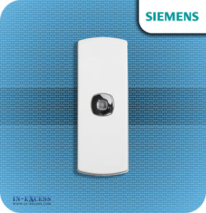 Siemens Echo Wirefree Portable Door Bell Chime Kit JSJS-214 - With JSJS-104W Bell Push