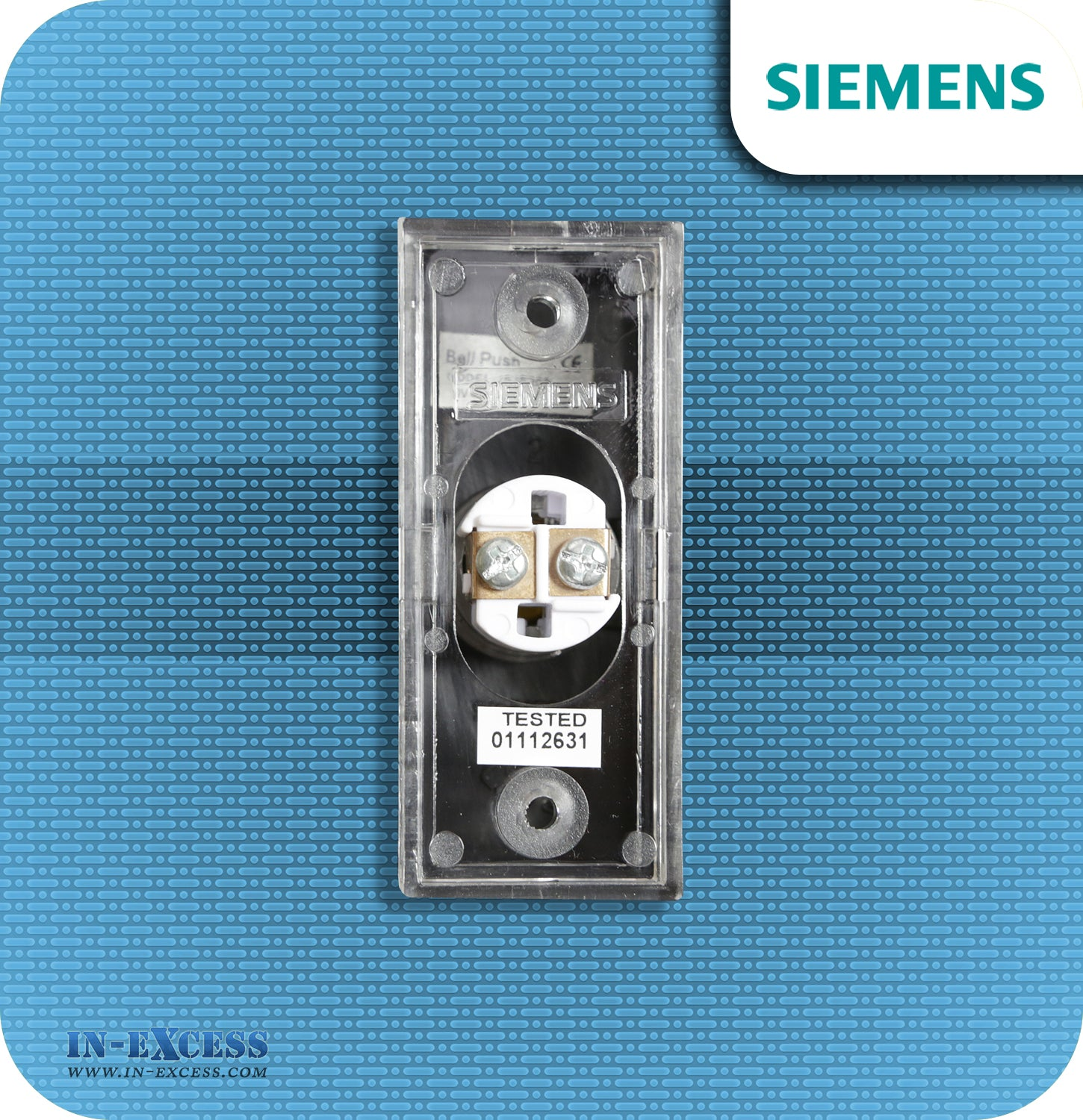 Siemens Backlit Black Wired Bell Push For Wired Door Chimes - JSJS ...