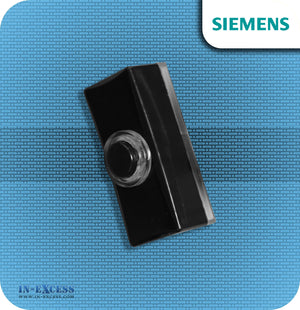 Siemens Backlit Black Wired Bell Push For Wired Door Chimes - JSJS-308 (DCW11)