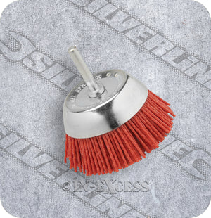 "Silverline Power Tool Accessories Rotary Nylon Filament Cup Brush - 50mm (2"")"
