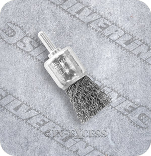 Silverline Power Tool Accessories Flat Trimmed End Steel Wire Brush