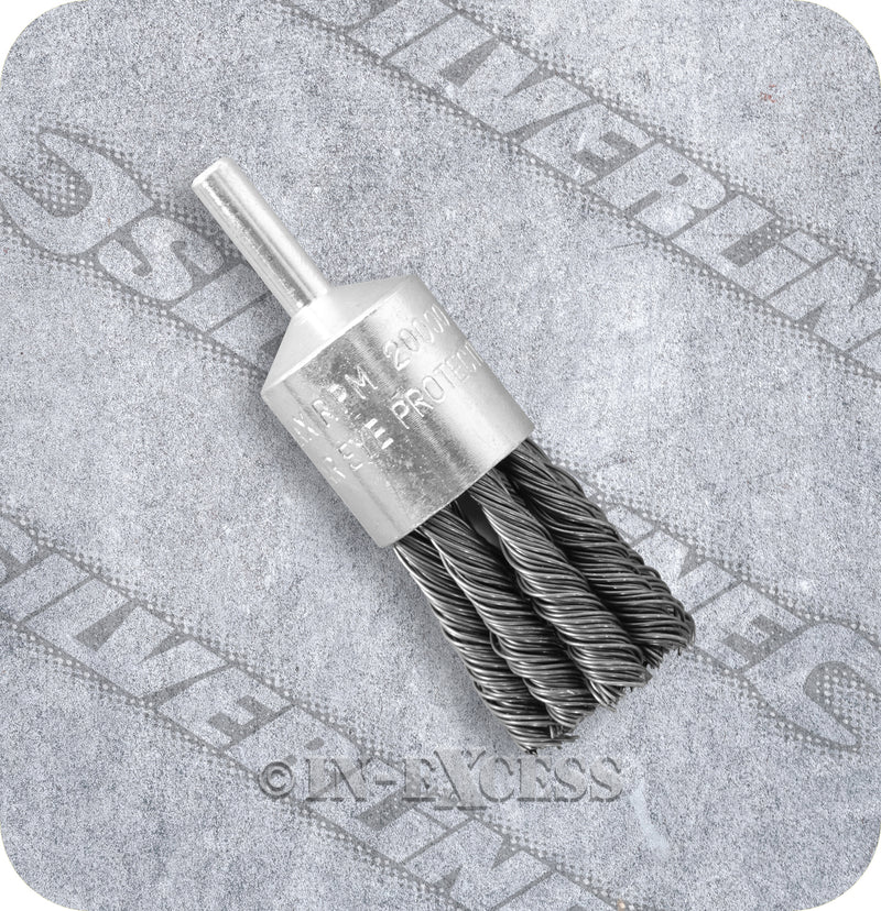Silverline Power Tool Accessories Twist End Steel Wire Brush