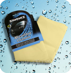 Simoniz High Performance Microfibre Car Chamois - 570mm x 380mm