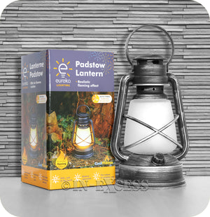 Smart Garden Eureka Lighting Realistic Decorative Flaming Effect Padstow Lantern