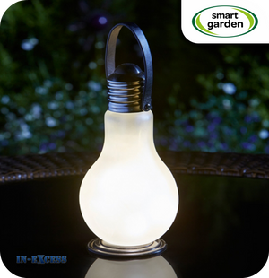 Smart Garden Eureka Battery Powered Coloured Hanging Glass Light Bulb - Frosted